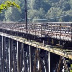 Pilchowice. Most kolejowy