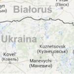 Trójstyk granic. Polska, Białoruś, Ukraina