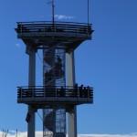 Smrk (1124 m n.p.m.). Wieża widokowa.
