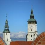 Złotoryja. Wieża kościoła Narodzenia NMP