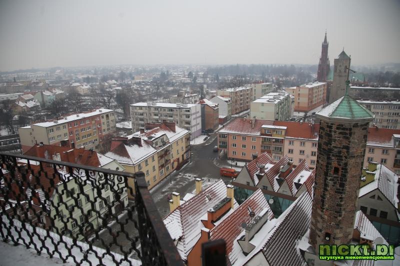 nickt.pl Luban ratusz wieza Lauban Rathaus 014