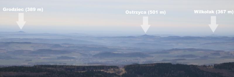 wysoki kamien panorama