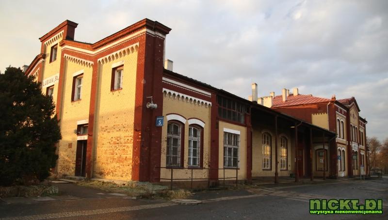 nickt.pl Luban Lauban bahnhof dworzec stacja kolej pkp 018