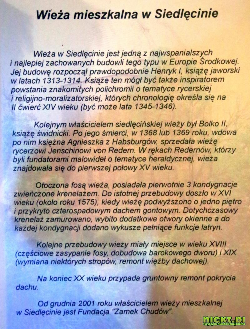nickt.pl siedlecin wieza rycerska ksiazeca freski mieszkalna zabytkowa 003