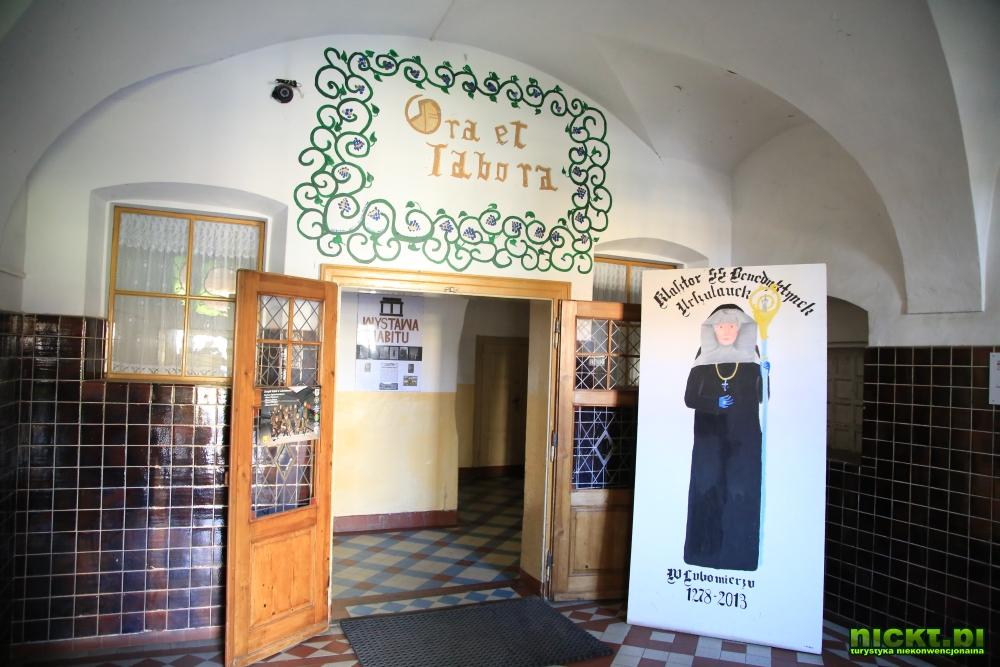 nickt.pl lubomierz klasztor benedyktynek internat wystawa habitow 004
