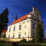 Lubomierz. Kościół p.w. Wniebowzięcia NMP i św. Maternusa BM
