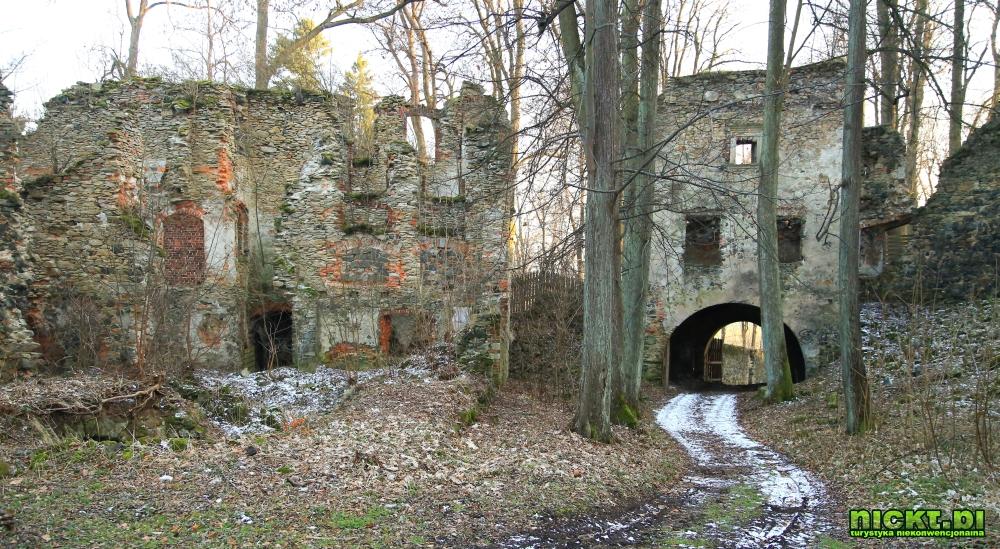 nickt.pl zamek gryf proszowka miersk gryfów śląski pogórze izerskie ruiny 007