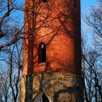 Kłonice. Wieża widokowa na wzniesieniu Radogost (398 m n.p.m.)