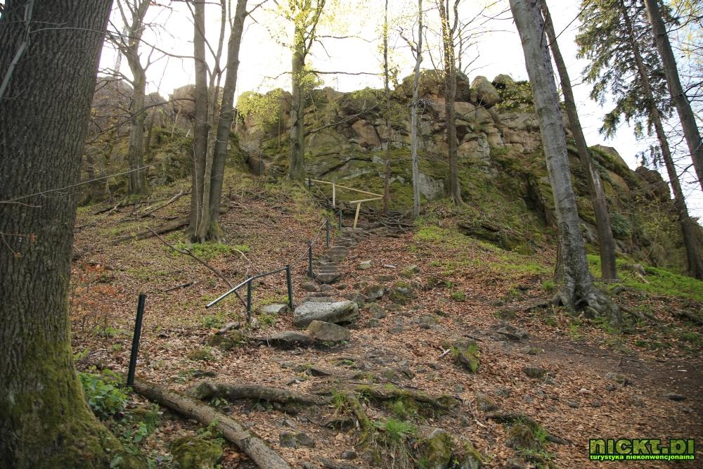nickt rudawy janowickie gory sokole krzyzna gora punkt widokowy szczyt krzyz 003