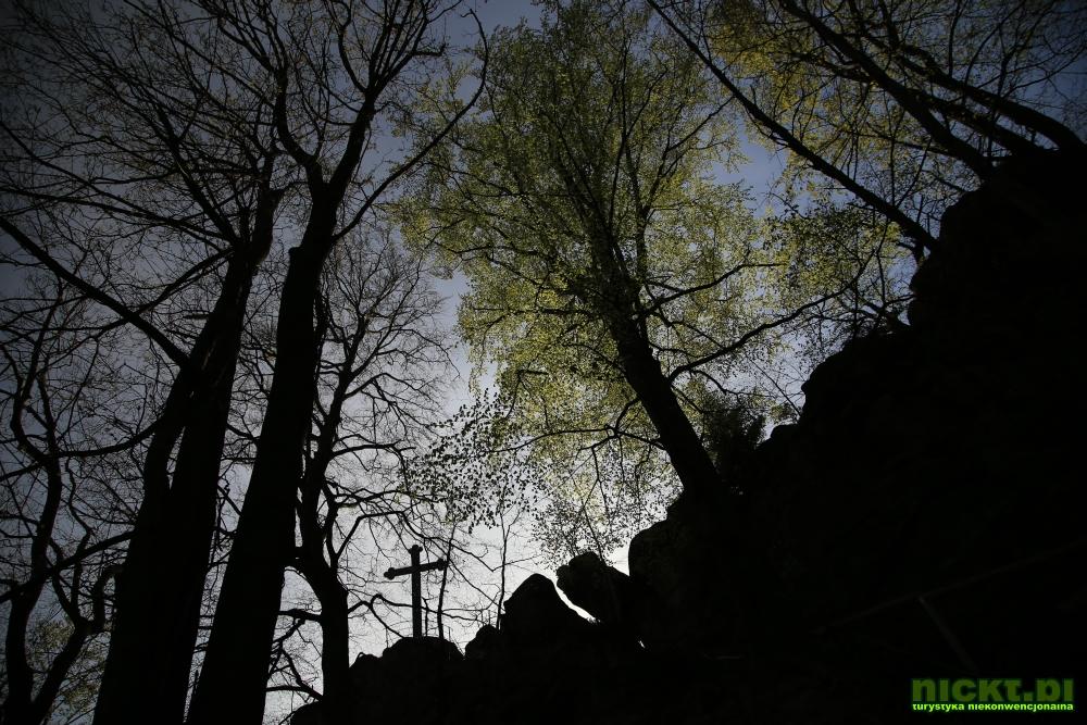 nickt rudawy janowickie gory sokole krzyzna gora punkt widokowy szczyt krzyz 004