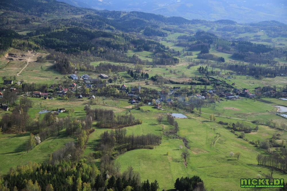 nickt rudawy janowickie gory sokole krzyzna gora punkt widokowy szczyt krzyz 007