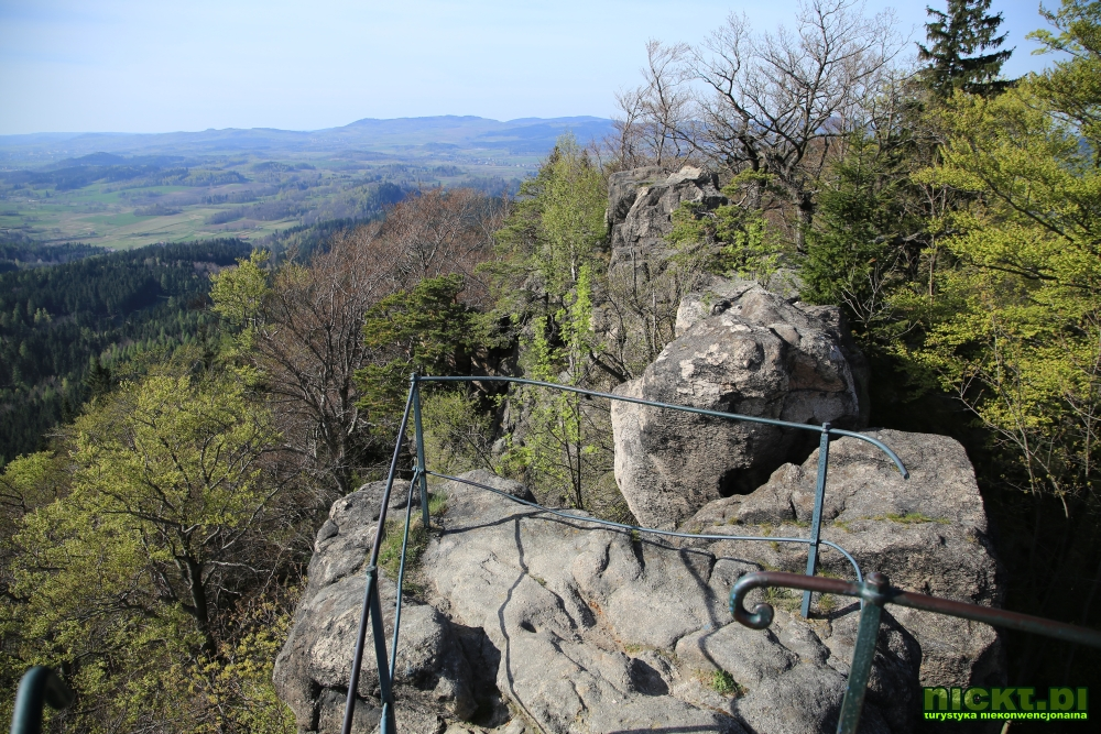 nickt rudawy janowickie gory sokole krzyzna gora punkt widokowy szczyt krzyz 009