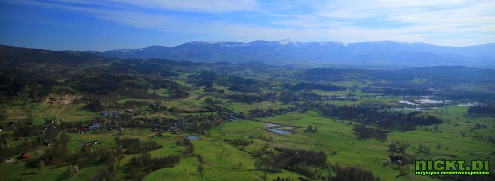 nickt rudawy janowickie gory sokole krzyzna gora punkt widokowy szczyt krzyz 010
