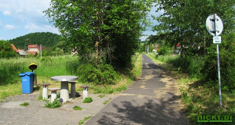nickt trasa droga sciezka rowerowa lwowek slaski plawna gorna dolna linia kolejowa kolej 001