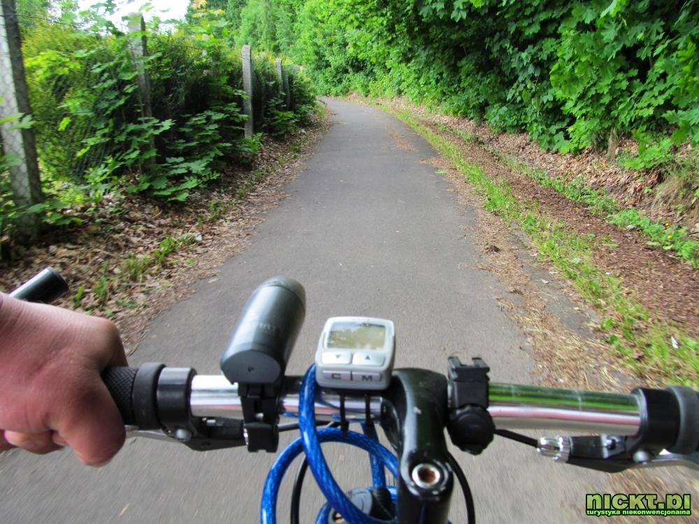 nickt trasa droga sciezka rowerowa lwowek slaski plawna gorna dolna linia kolejowa kolej 006