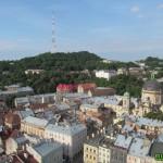Lwów. Wysoki Zamek i Kopiec Unii Lubelskiej