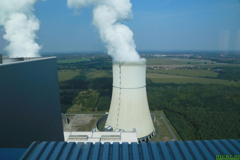 nickt_pl Spremberg Schwarze Pumpe Kraftwerk Aussichpunkt elektrownia taras punkt widokowy 0010