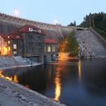 Pilchowice. Zapora i hydroelektrownia