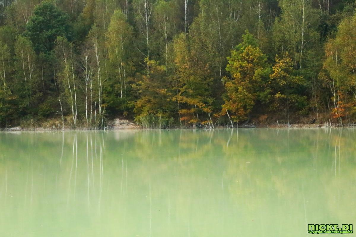 nickt_pl nowogrodziec zebrzydowa czerna halda kopalnia surmin kaolin wyrobisko jezioro staw woda bialy piasek 008