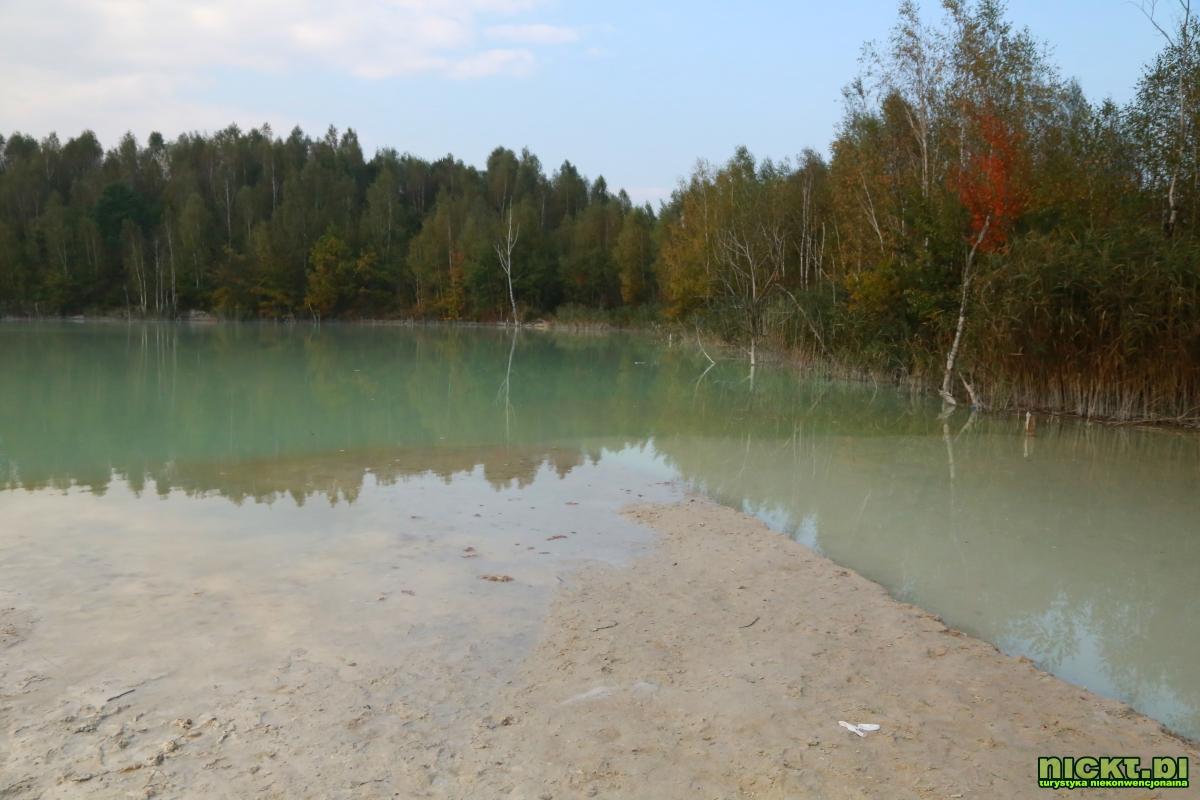 nickt_pl nowogrodziec zebrzydowa czerna halda kopalnia surmin kaolin wyrobisko jezioro staw woda bialy piasek 010