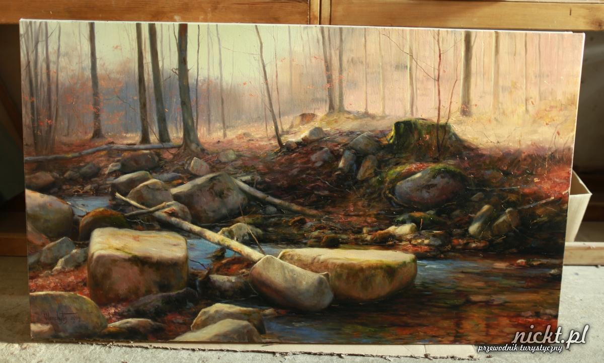 nickt Oleszna Podgorska. Pracownia malarska Vladimira Vilenchytsaa 006