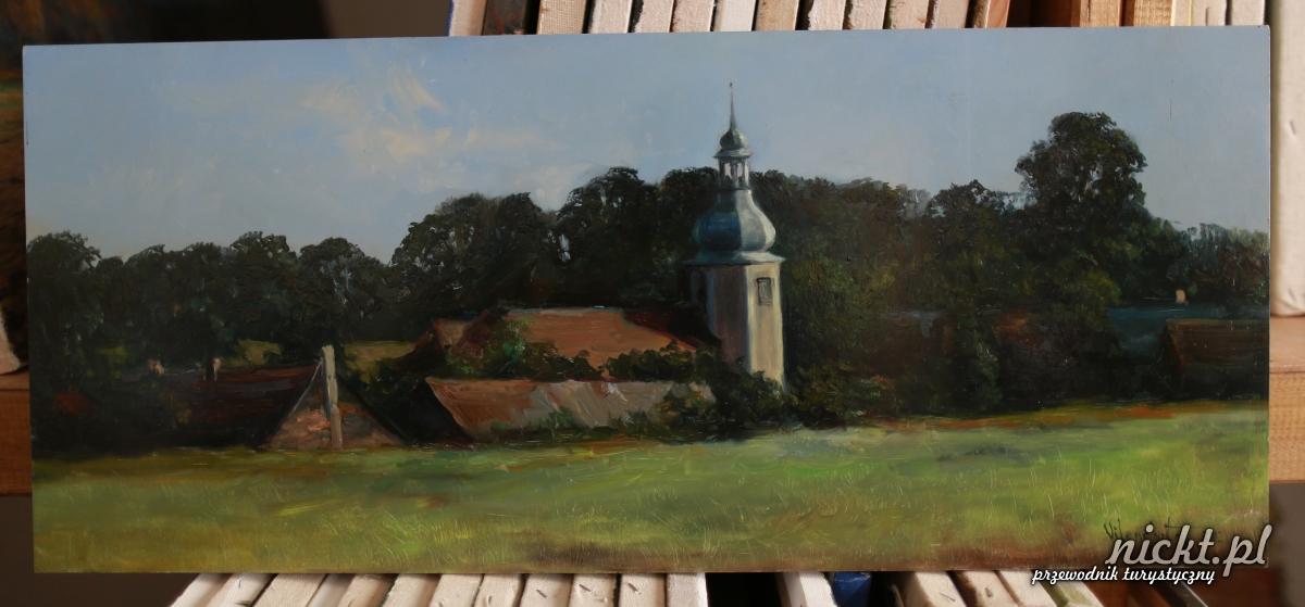 nickt Oleszna Podgorska. Pracownia malarska Vladimira Vilenchytsa 025