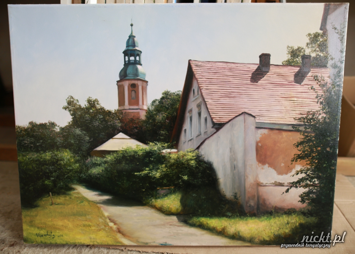 nickt Oleszna Podgorska. Pracownia malarska Vladimira Vilenchytsa 026