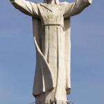 Świebodzin. Figura Jezusa Chrystusa Króla Wszechświata