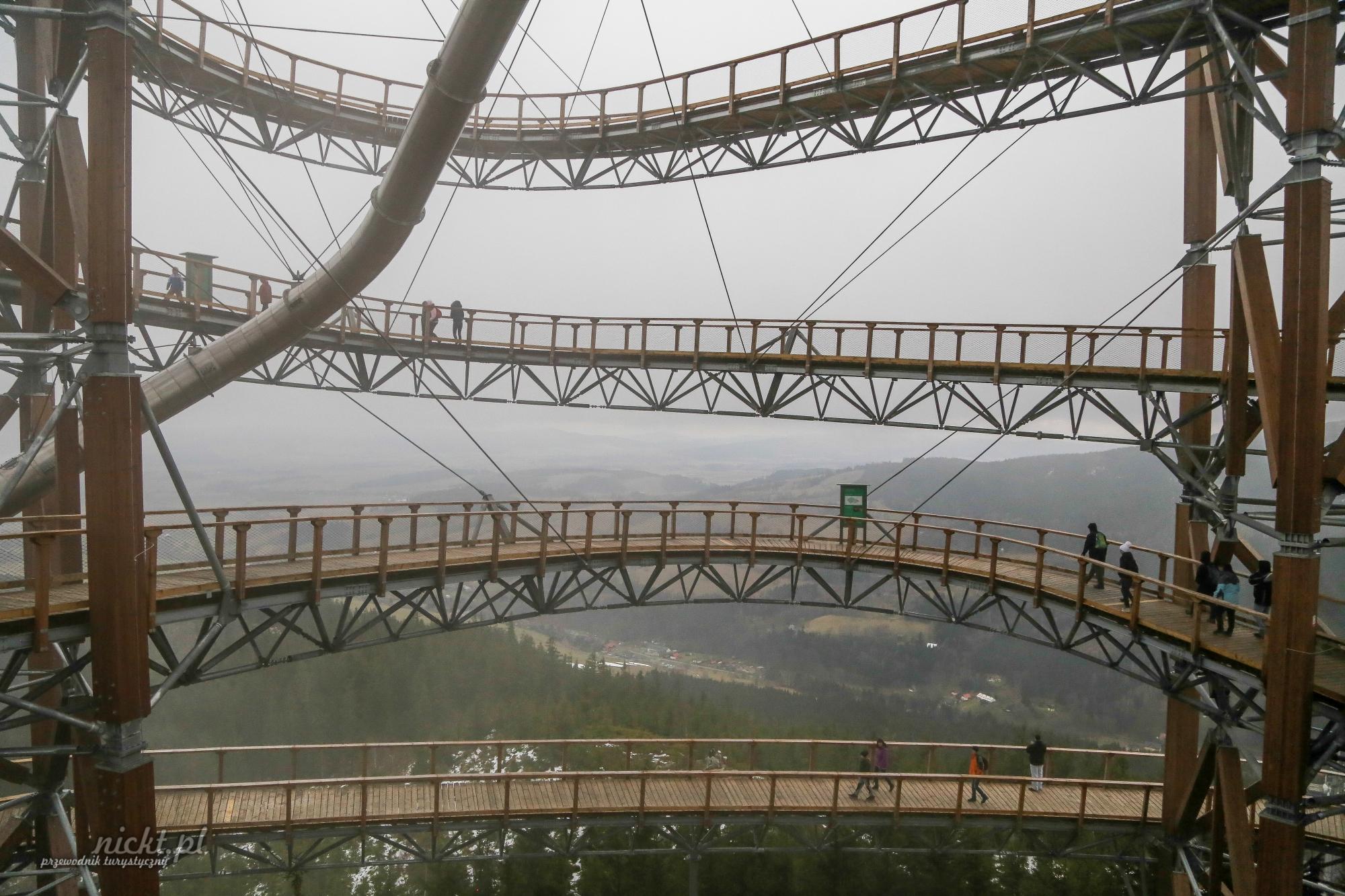 dolni morava stezka v oblacnich czechy punkt widokowy wieza widokowa nickt.pl turystyka niekonwencjonalna przemyslaw woznica 015